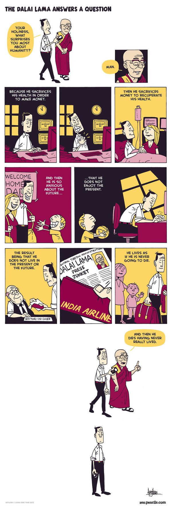 Love Zen Pencils, very insightful comics most of the time. This one is no exception.