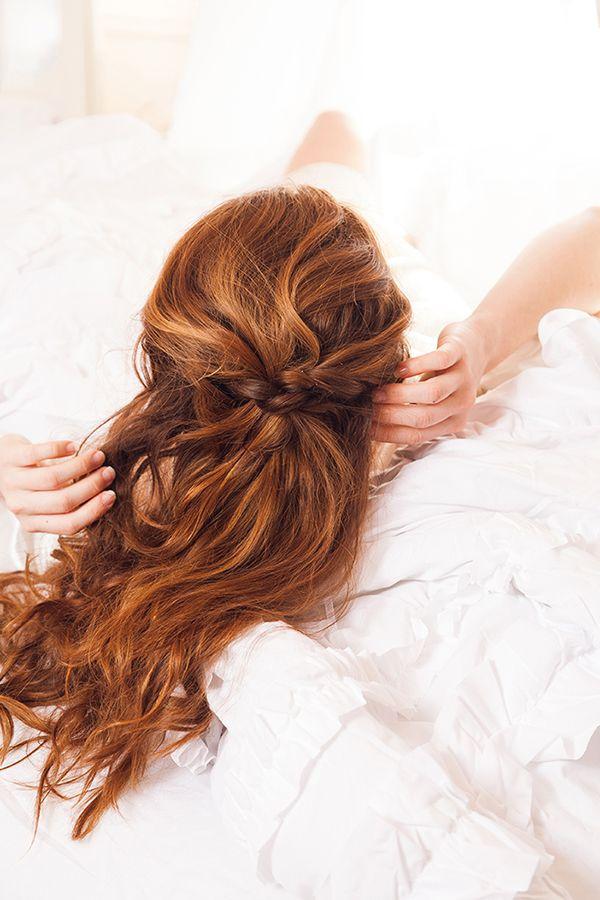 The Feathery Fairy-Twist Hair Tutorial