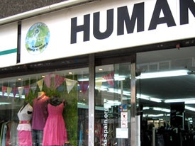 Humana, Barcelona - there are about 5 of these massive charity shops dotted around Barcelona, you can always find great bargains and they do sales too!