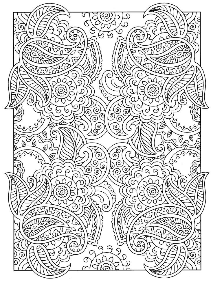 a favorite from mehndi designs by marty noble coloring - Mehndi Patterns Colouring Sheets