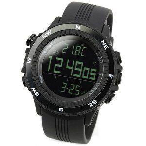 [ラドウェザー]腕時計 ドイツ製センサー 高度/気圧/温度/天気 アウトドア 登山 マラソン スポーツ時計