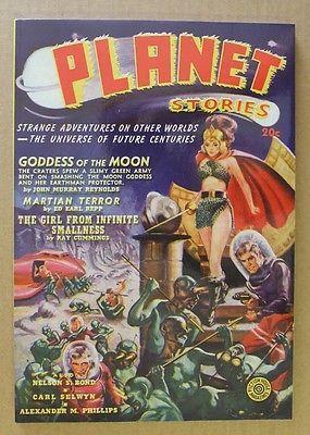 Planet Stories Spring 1940 Adventure House Pulp Reprint GGA