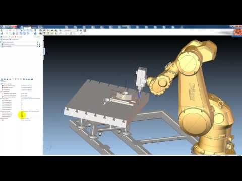 SprutCAM Robot for offline programming Stäubli robots for milling Intergrator: SoliCAD s.r.o. www.sprutcam.com
