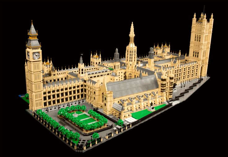 Westminster Palace - 50,000 bricks! @freshgoodies. Visit us for endless Lego Creations!