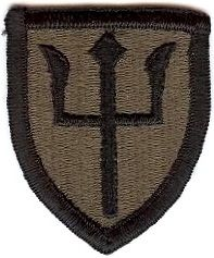 WorldMilitary - 97 Infantry Division Patch. US Army