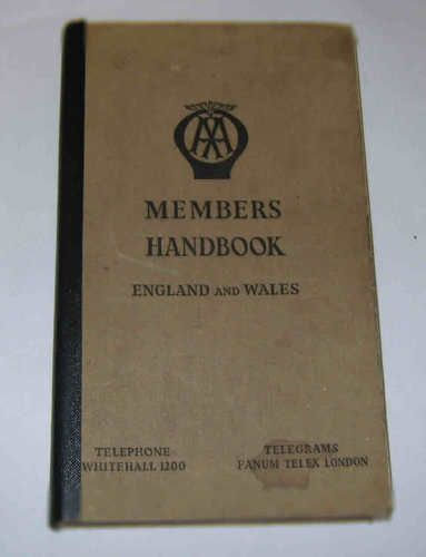 119 best vintage auto manual covers images on pinterest vintage aa members handbook england and wales edition 1948 fandeluxe Images