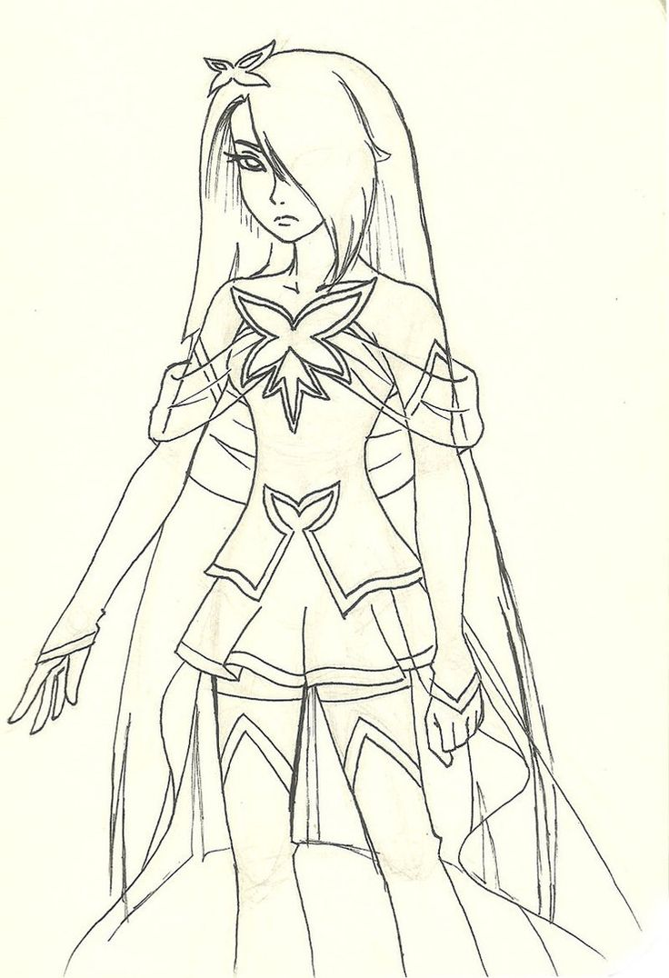 Lolirock Characters Coloring Pages