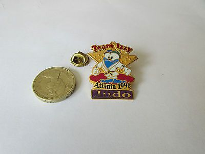 #Atlanta #olympics 1996   team izzy  judo  original  metal  pin #badge,  View more on the LINK: 	http://www.zeppy.io/product/gb/2/201406561120/