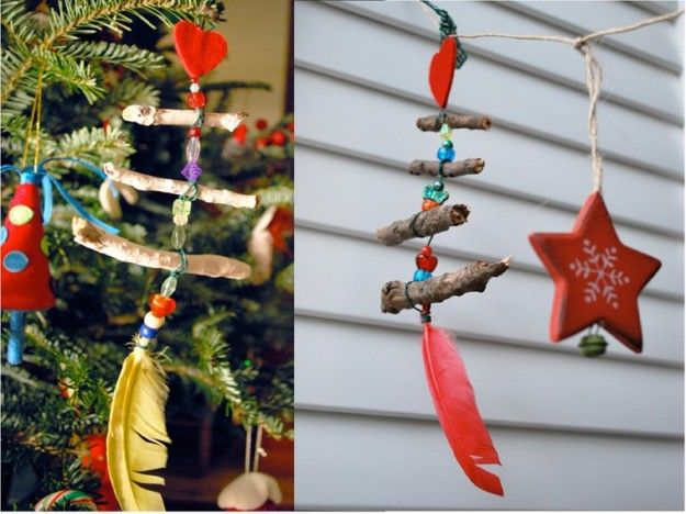 how to make eco friendly hanging decorations
