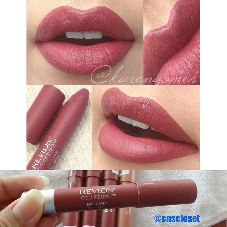 Readystock! Revlon Colorburst matte balm in Sultry HARGA SATUAN : IDR 130.000 100 % ORI FROM ...