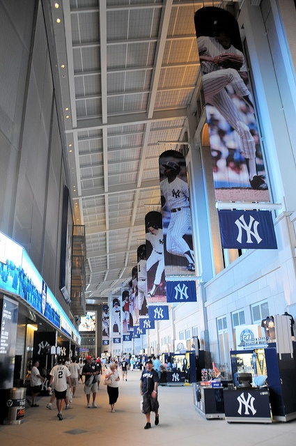 Yankee Stadium, NY... That one's off the bucket list. Also Busch Stadium in St. Louis. Now for the others...