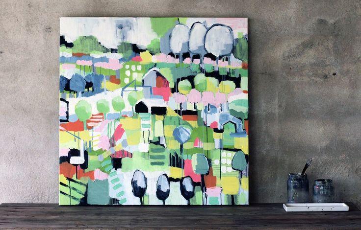 Painting Anette Carlsson Moberg/ Patternplan