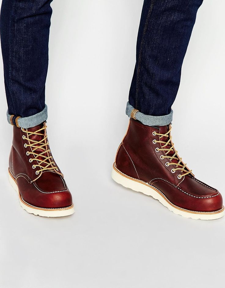 Red Wing - 6-Inch Moc Toe Leather Boots - $408