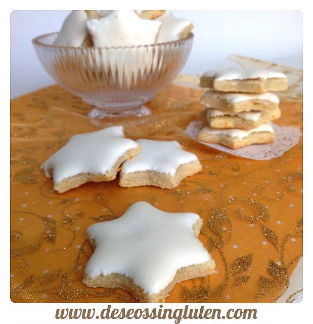 Deseos Sin Gluten: GALLETAS DE NARANJA GLASEADAS SIN LÁCTEOS Y SIN GL...