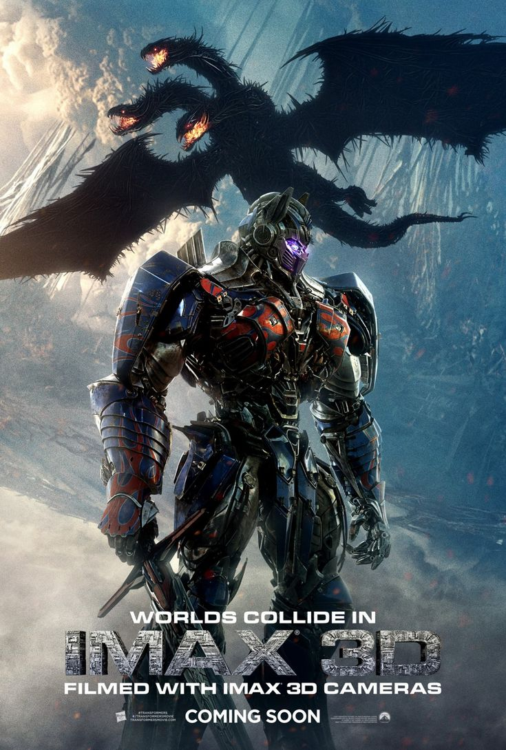 Transformers: The Last Knight IMAX 3D poster