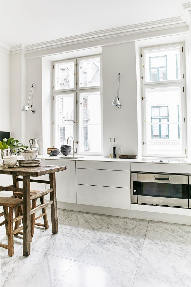 Küchenideen mit schwarzen schränken  besten casa kitchen  life bilder auf pinterest  wohnen
