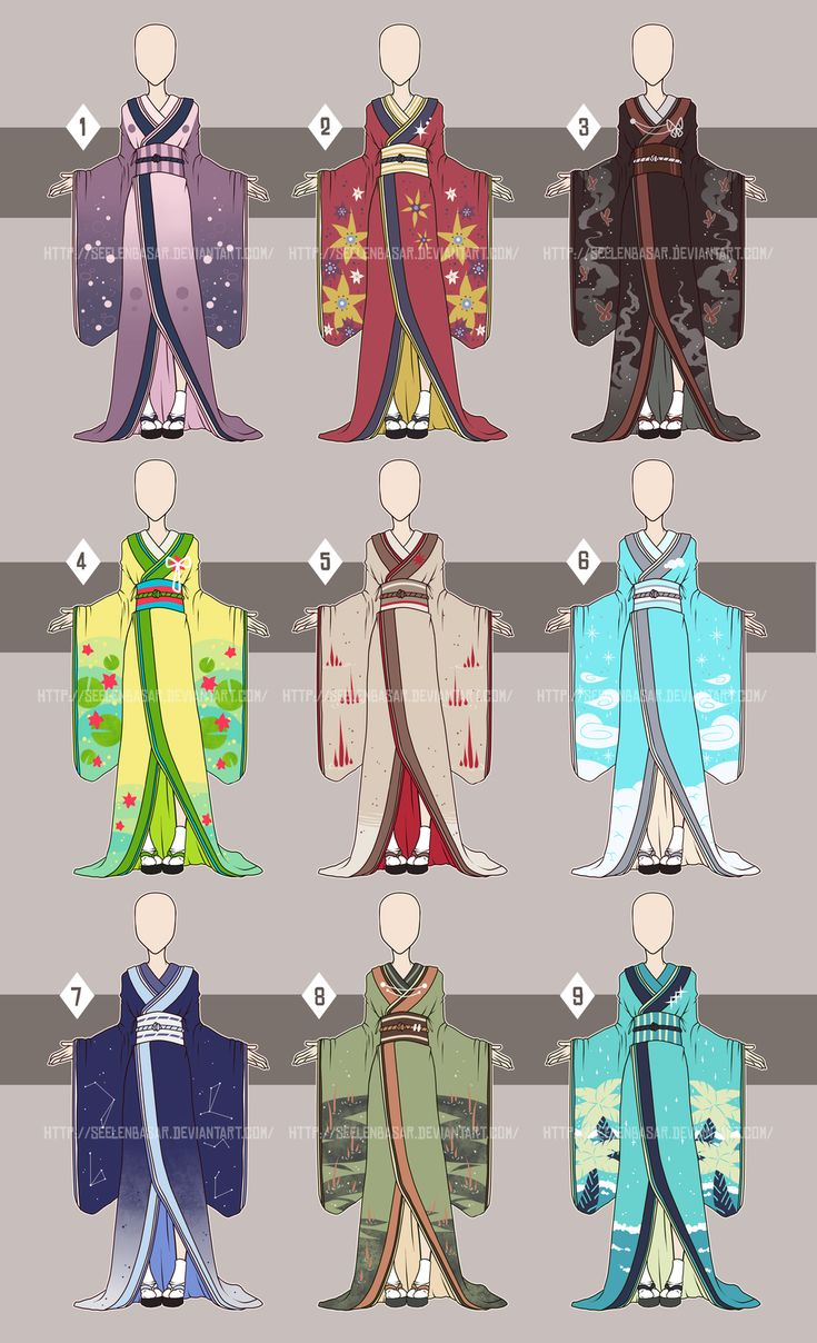 ...Kimono Time...[Open 5/9] by Seelenbasar.deviantart.com on @DeviantArt
