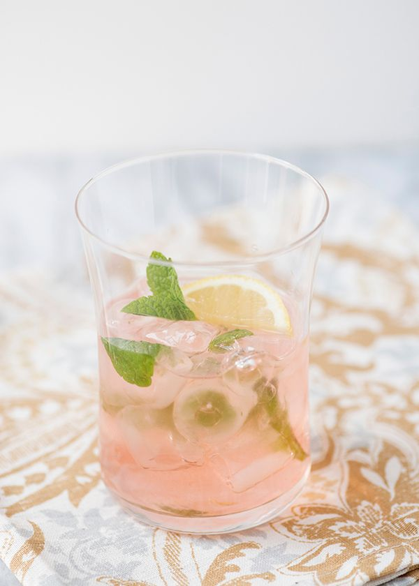 This refreshing elderflower and gin cocktail is a breeze to whip up, but still flavorful enough to impress any guests.