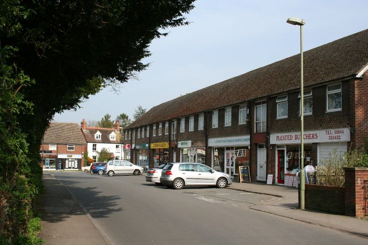 Shops at the junction of Church Road and High Street, Chinnor