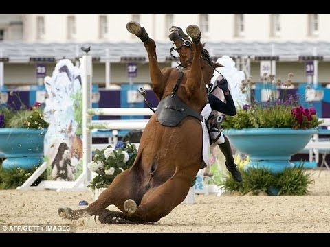 Jockey fell off his horse twice National Gallop  Girl jockey felt down 2 times therefore not ride more, not raced on The National Gallop in Hungary.  #hungary #animal #horse