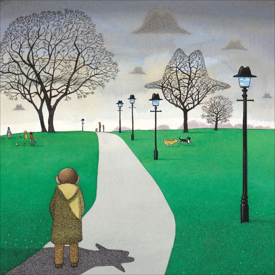 Anthony Browne (and a touch of Magritte!).