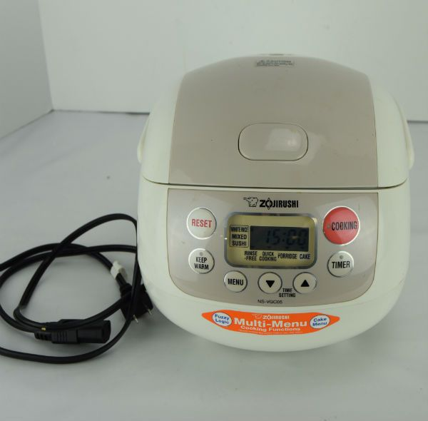 1f2f228e368 Rice Cooker - Rice Cooker ideas  ricecooker Zojirushi NS-VGC05 Micom 3-Cup  (Uncooked) Electric Rice Cooker and Warmer -  55.00 End Date  Saturday ...