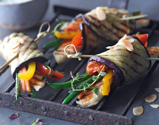 Grilled summer vegetable bundles | eat @ home | Pinterest ...