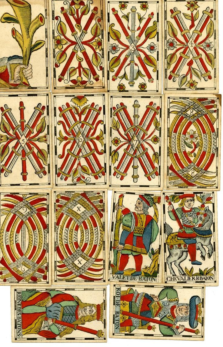 172 Best Tarot Marseille Traditional Images On Pinterest