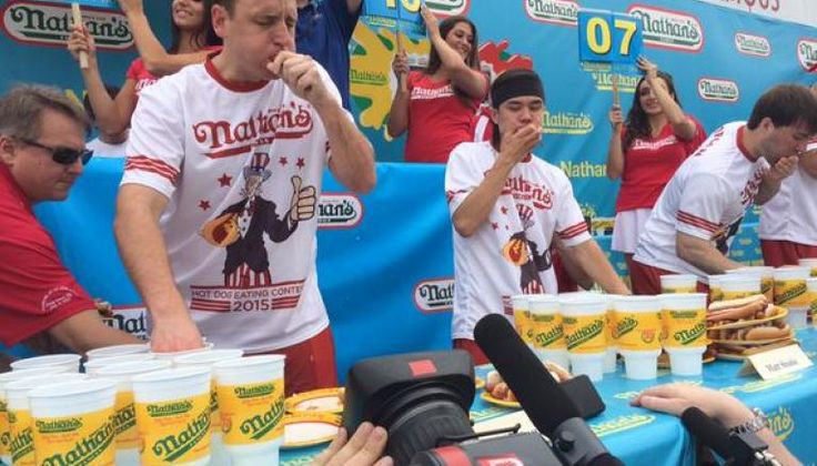 Matt Stonie Upsets Joey Chestnut to Become the New Hot Dog Eating Champion