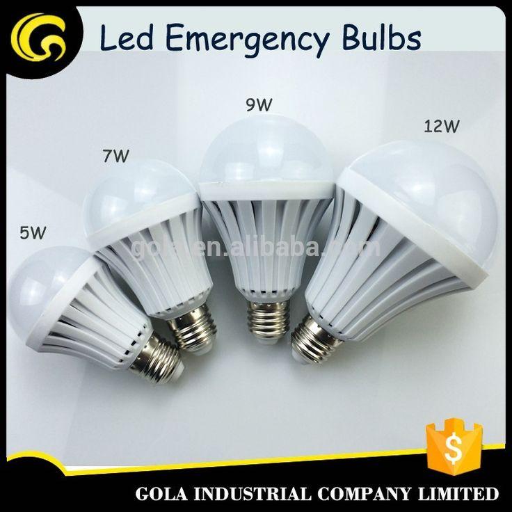 E27/B22 emergency led bulb light 5w 7w 9w 12w led light 5w