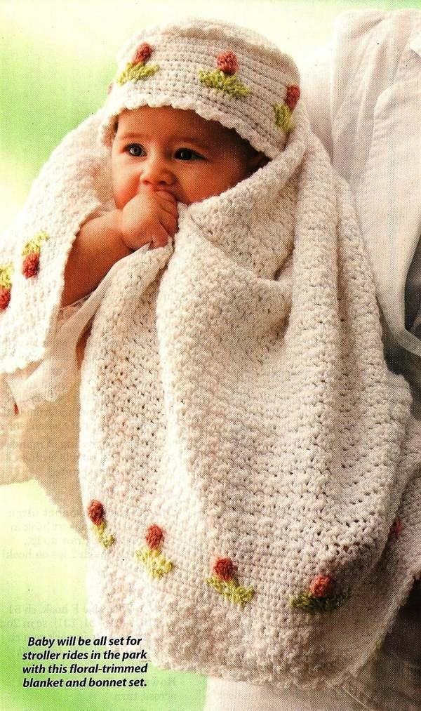 Crochet Tulip Baby Set. Pattern. Etsy. $