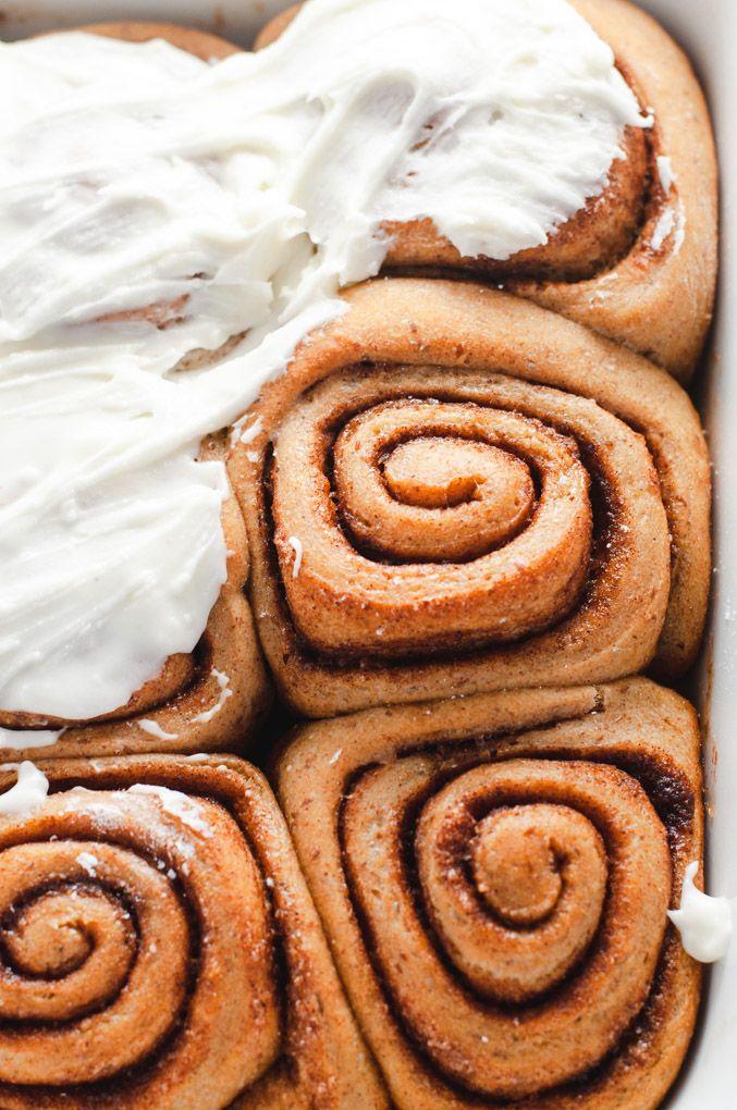 Easy Vegan Cinnamon Rolls Recipe With Images Vegan Cinnamon Rolls Food Cinnamon Rolls
