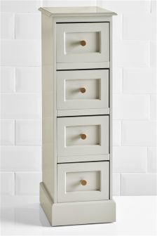 Buy Grey Wood 4 Drawer From The Next UK Online Shop