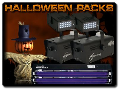 Our Halloween Outlet is now open! Tons of effects, foggers, and lights to bring your Halloween to life! You can check it out here http://www.123dj.com/halloween/index.html