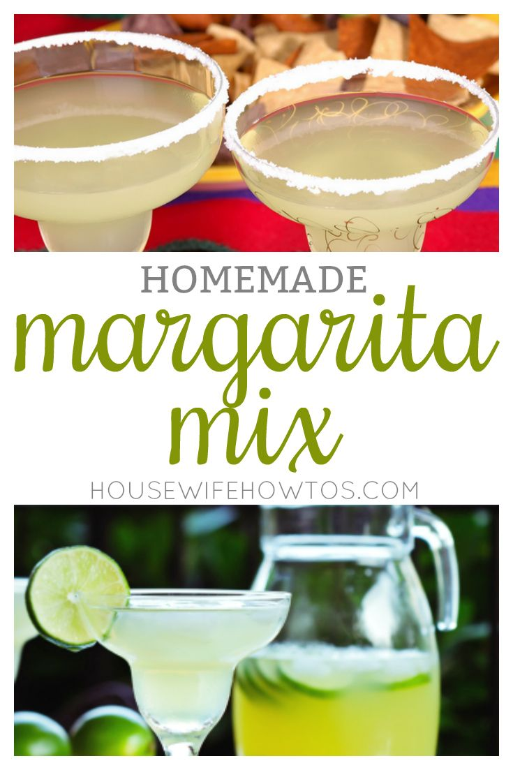 Homemade Margarita Mix - All-natural ingredients make the best margarita mix ever | recipes | recipe | | dinner party | ideas | entertaining | low ingredient | easy | the easiest | quick | simple | make ahead | cocktails | drinks | party |