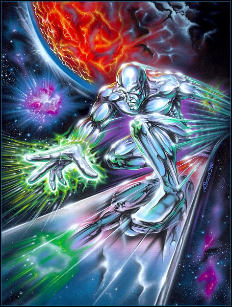 SILVER SURFER  - Cover