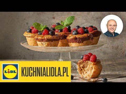 Pasteis de nata - portugalskie minitarty - Paweł Małecki - Przepisy Kuchni Lidla - YouTube