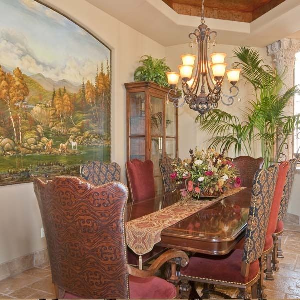 479 best images about lovely dining breakfast rooms on for Old world dining room ideas