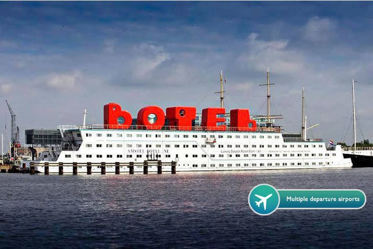 2nt Amsterdam Boat Hotel & Flights - Ice Bar Option! deal in Holidays Enjoy a two-night Amsterdam break and see the city famed for its canals, coffee shops and cycles.    Includes return flights from London Luton, Stansted, Southend (Liverpool, Manchester and Edinburgh for supplement).  Stay in style at the Botel with a delicious breakfast.  Deal Bonus: Enjoy a visit to Amsterdam's Ice Bar for...