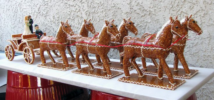 Six-horse chariot / Hatlovas hintó