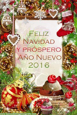 Feliz Navidad y Próspero Año Nuevo 2016 | Banco de Imágenes, Fotos y Postales...