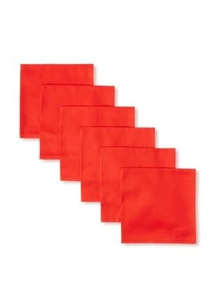 55% OFF Garnier-Thiebaut Set of 6 Confetti Napkins, Fraise, 18