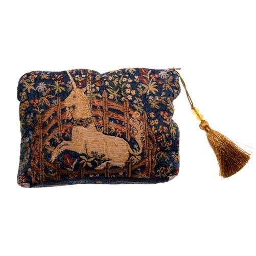 A fully lined beautiful zip purse with a unicorn design, perfect for so many occasions.