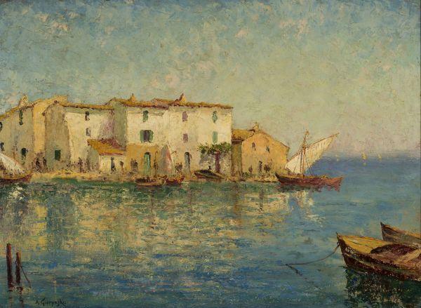 Widok Wenecji - Aleksander Gierymski