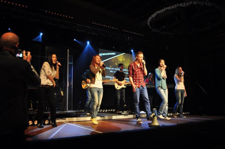 worship team v akci