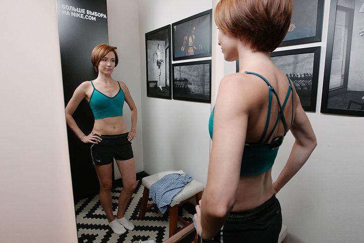 nike zoned sculpt strappy bra fitting julia grebenkina beauty insider