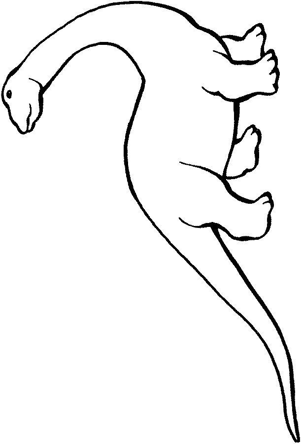 Les 97 meilleures images du tableau coloriages sur pinterest colorier dessins de et gratuit - Modele dessin dinosaure ...