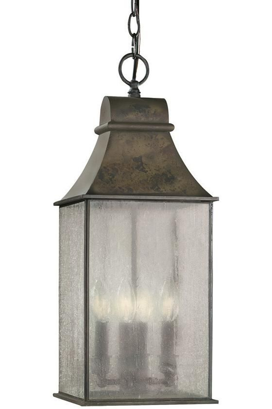 Dark Sky Revere 4-Light Outdoor Hanging Lantern - Outdoor Lanterns - Outdoor Hanging Lantern - Outdoor Lights - Patio Lights - Deck Lighting - Hanging Lanterns | HomeDecorators.com