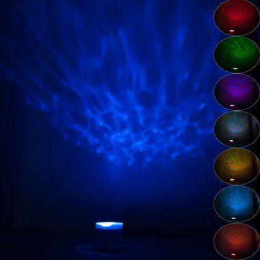 ZNL LED Nachtlampe Nachtlicht Projektor Lautsprecher Kinder Einschlafhilfe JYX01
