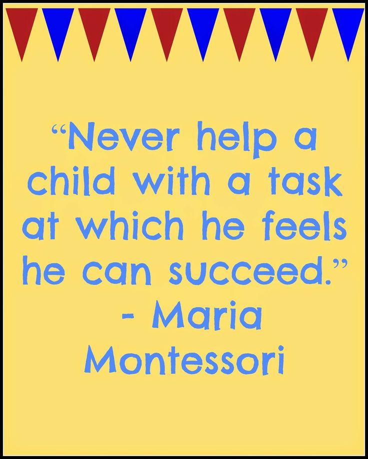 Maria Montessori Quotes: Maria Montessori Quotes